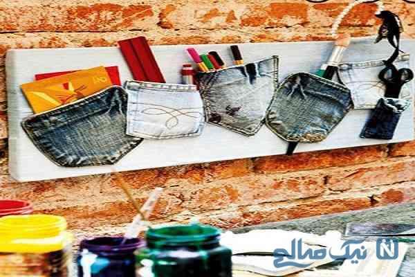 شیوههای استفاده از شلوارهای جین قدیمی
