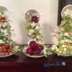 آموزش تزیین فنجان و نعلبکی با گل +تصاویر