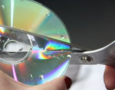 بریدن cd