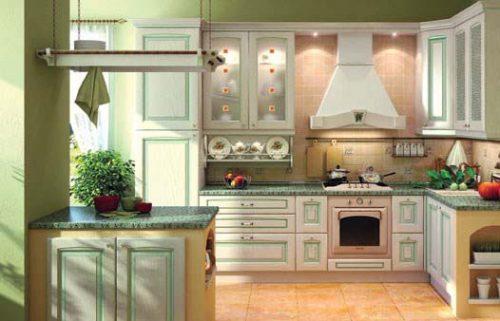 بزرگ تر نشان دادن آشپزخانه