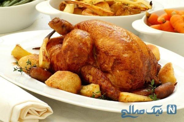 از بین بردن بوی نامطبوع مرغ