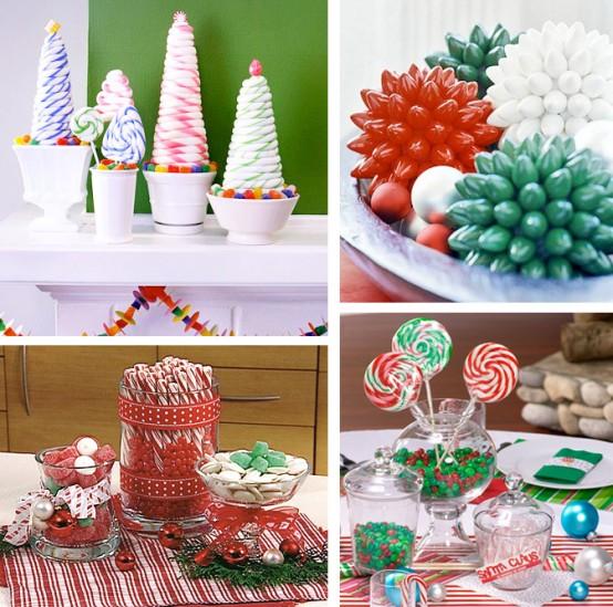 تزئین میز عید کریسمس+تصاویر