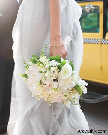 ایده هایی برای انتخاب دسته گل عروس+تصاویر