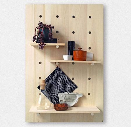 آموزش ساخت طاقچه های چوبی کاربردی +تصاویر