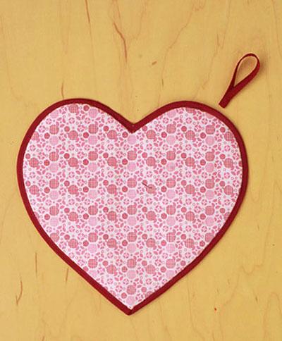 آموزش درست کردن دستگیره های آشپزخانه به شکل قلب+تصاویر