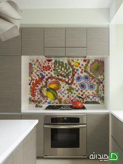 ایده هایی جالب برای تزئین دیوارها با پارچه های رنگی+تصاویر