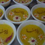 تزیین شله زرد ماه رمضان+تصاویر