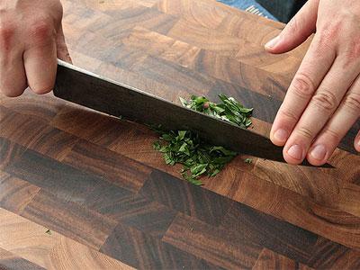 ۴ روش برش با چاقو که هر آشپزی باید بلد باشد+تصاویر