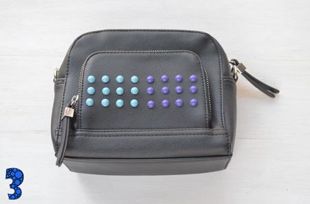 ساده ترین مدل تزیین کیف با مهره های رنگی +تصاویر