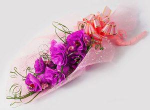 آموزش ساخت دسته گل شیرین +تصاویر