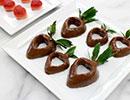 آموزش تهیه توت فرنگی های شکلاتی خوشمزه +تصاویر