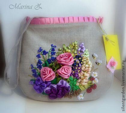 کیف های روبان دوزی شده + تصاویر زیبا