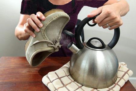 آموزش مرحله ای نحوه تمیز کردن کفش جیر+تصاویر