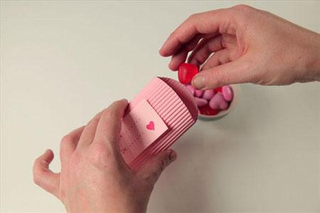 ساخت جعبه برای هدایای کوچک و شکلات+تصاویر