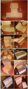 آموزش ساخت باکس وسایل تزئینی +تصاویر
