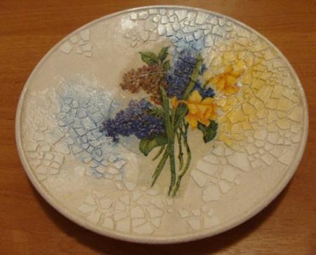 تزئین ظروف شیشه ای با پوسته تخم مرغ +تصاویر