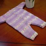 بافت لباس سرهمی نوزاد در خانه را مرحله به مرحله آموزش داده ایم