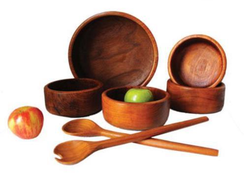ظروف چوبی را با این تکنیک ها و نکات ساده تمیز کنید