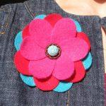آموزش ساخت گل با فوتر آسان و بسیار زیبا درخانه+تصاویر