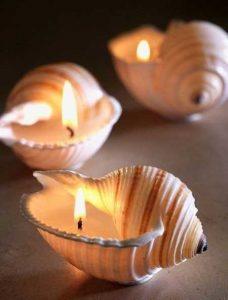 تزیین شمع با وسایل ساده خلاقانه و فانتزی تصاویر