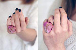 آموزش ساخت انگشتر بسیارشیک وزیبا در خانه+تصاویر