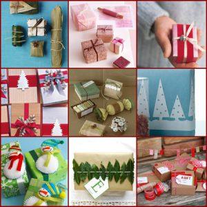 تزیین هدایای سال نو,ایده برای تزیین هدایای سال نو میلادی تصاویر
