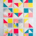 آموزش ساخت زیرلیوانی از جنس نمدبسیار زیبا+تصاویر