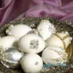 تزیین تخم مرغ سفره عقد+تصاویر