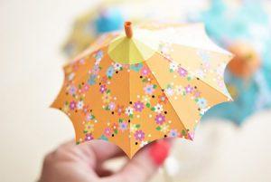 آموزش ساخت چتر تزیینی+تصاویر