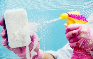 تمیز کردن شیشه ها | اصول پاک کردن پنجره ها+تصاویر