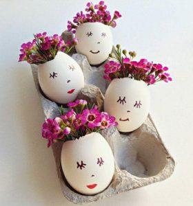 تزیین تخم مرغ برای سفره هفت سین+تصاویر