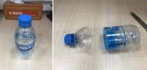 ساخت جا شمعی با بطری