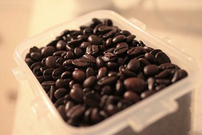 نگهداری از دانه های قهوه