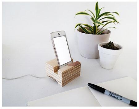 آموزش ساخت نگهدارنده چوبی موبایل