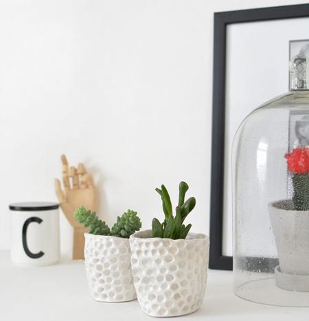 آموزش ساخت گلدان تزیینی+تصاویر