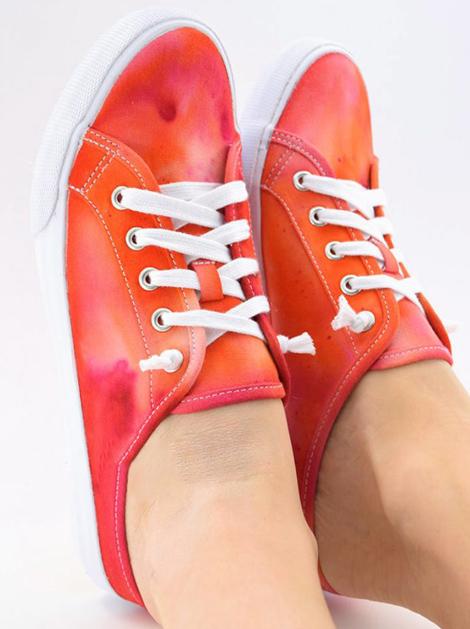آموزش رنگ آمیزی کفش