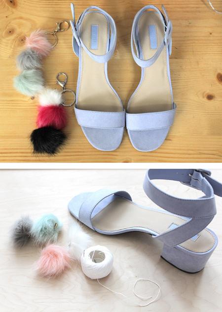 تغییر دادن ظاهر کفش