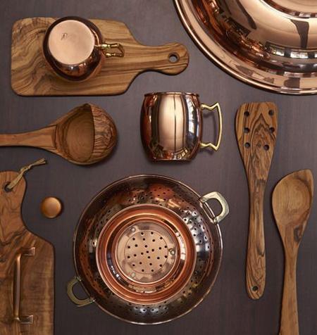 تمیزکردن ظروف مسی