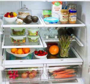 راهنمای تمیز کردن یخچال و بسته بندی مواد غذایی