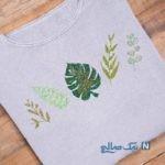 آموزش گلدوزی لباس بافتنی ساده+تصاویر