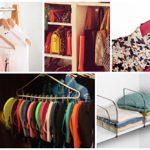 نکاتی برای چیدمان کیف و کفش و لباس در کمد+تصاویر
