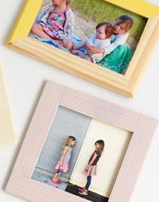 آموزش تزیین قاب عکس با چسب و رنگ+تصاویر