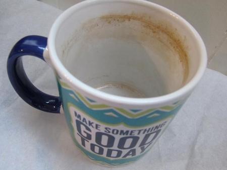 تمیز کردن لکه چای و قهوه