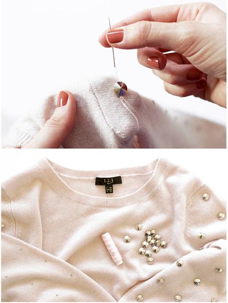 تزیین لباس بافت