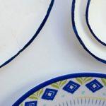 آموزش نقاشی روی ظروف ساده+تصاویر