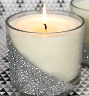 آموزش ساخت شمع اکلیلی با استفاده از لیوان+تصاویر