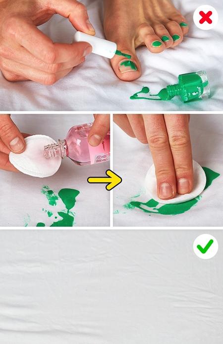 تمیز کردن انواع لکه