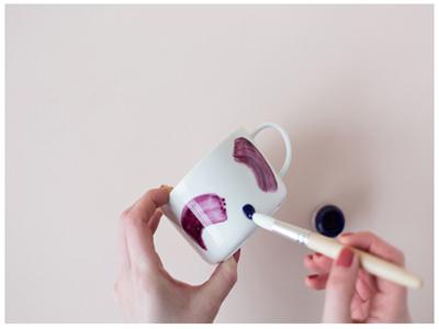 تزیین لیوان