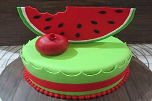 جدیدترین مدل های کیک شب یلدا +تصاویر