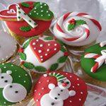 مدل های تزئین کاپ کیک مخصوص کریسمس +تصاویر